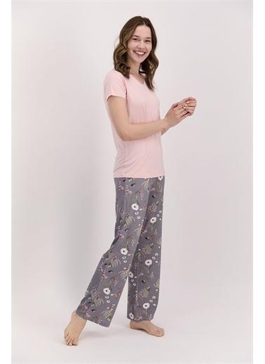 Arnetta Pijama Takım Krem